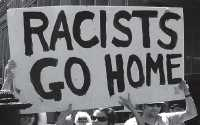 Racists Go Home