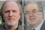 Prof. Moshe Zuckermann und Prof. Bassam Tibi