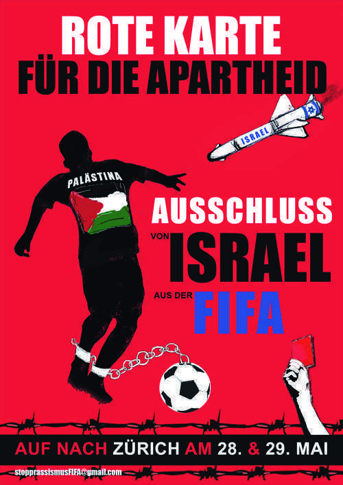 Red Card Israeli Racism