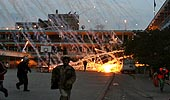 Gaza under phosphorous fire