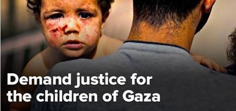 Justicee for children of Gaza